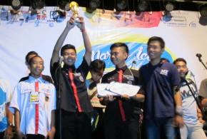 The Best Design Nasional Pop-pop Boat Race MARINE ICON, ITS Surabaya 2015