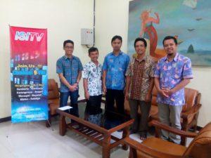 Kunjungan ke ISI TV Surakarta